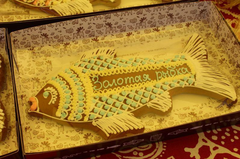 Одни из самых красивых пряников - архангельские с ажурным орнаментом