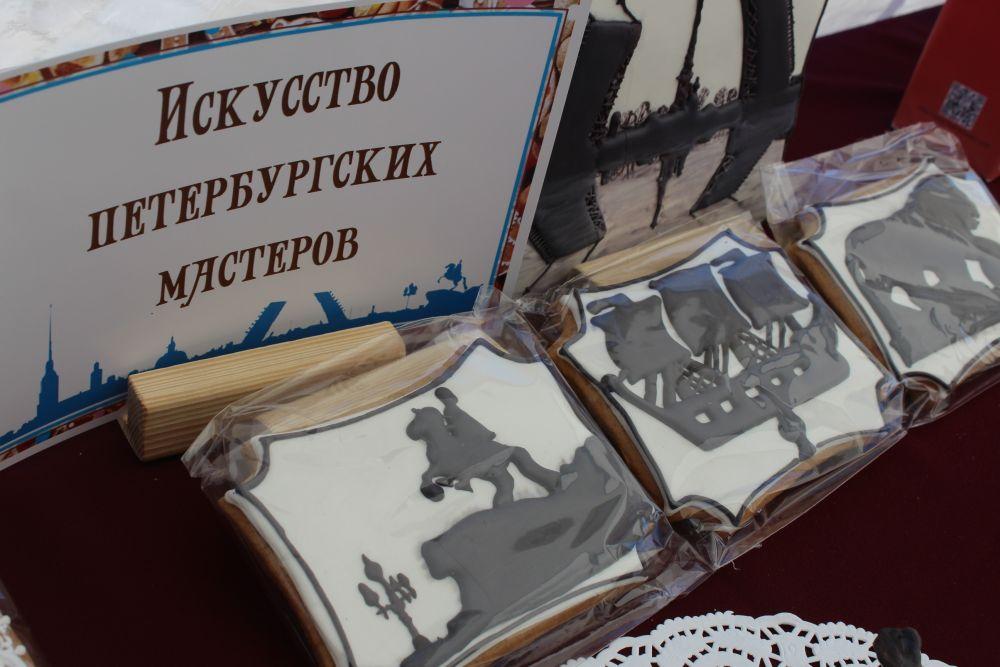 Петербургские мастера также не остались в долгу