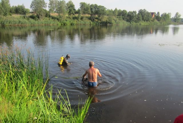 ВАрдатовском районе потонул 8-летний парень