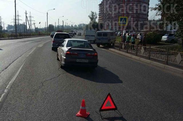 Убийство произошло на улице Калинина возле проезжей части.