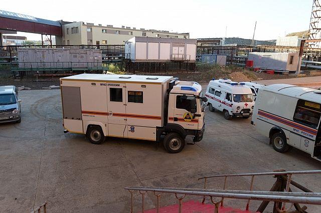 МЧС сообщило озаблокированных шахтерах наруднике «Мир»