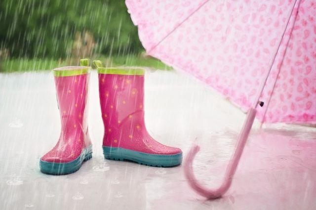 Всю неделю в городе будет идти дождь.