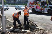 Работы ведутся в рамках федерального проекта «Безопасные и качественные дороги».