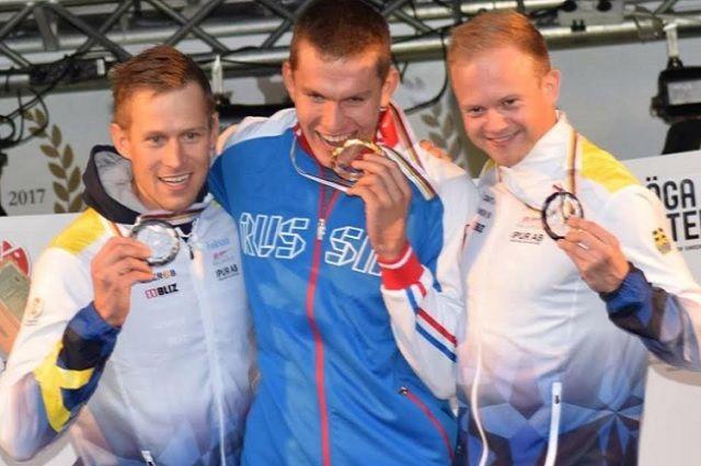 Двое тюменских лыжников вернулись из Швеции с золотыми медалями