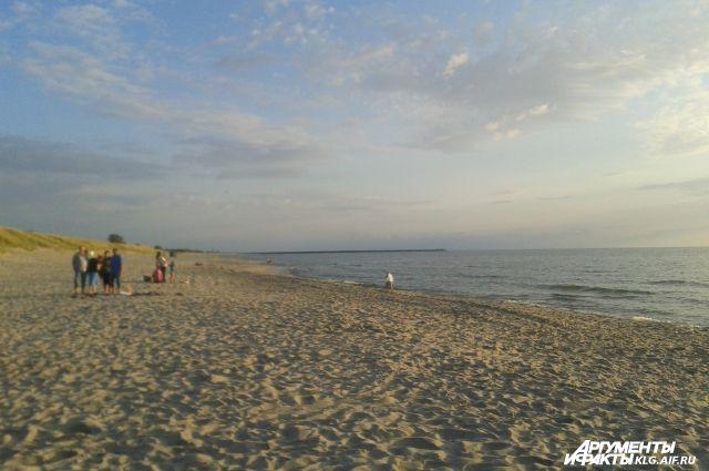 В МЧС рассказали об особенностях купания в Балтийском море.