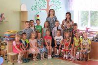 Воспитанники детского сада №18 г. Барнаула.