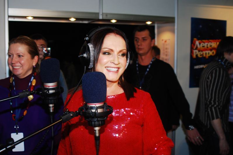 София Ротару на концерте в Олимпийском. 2007 год.