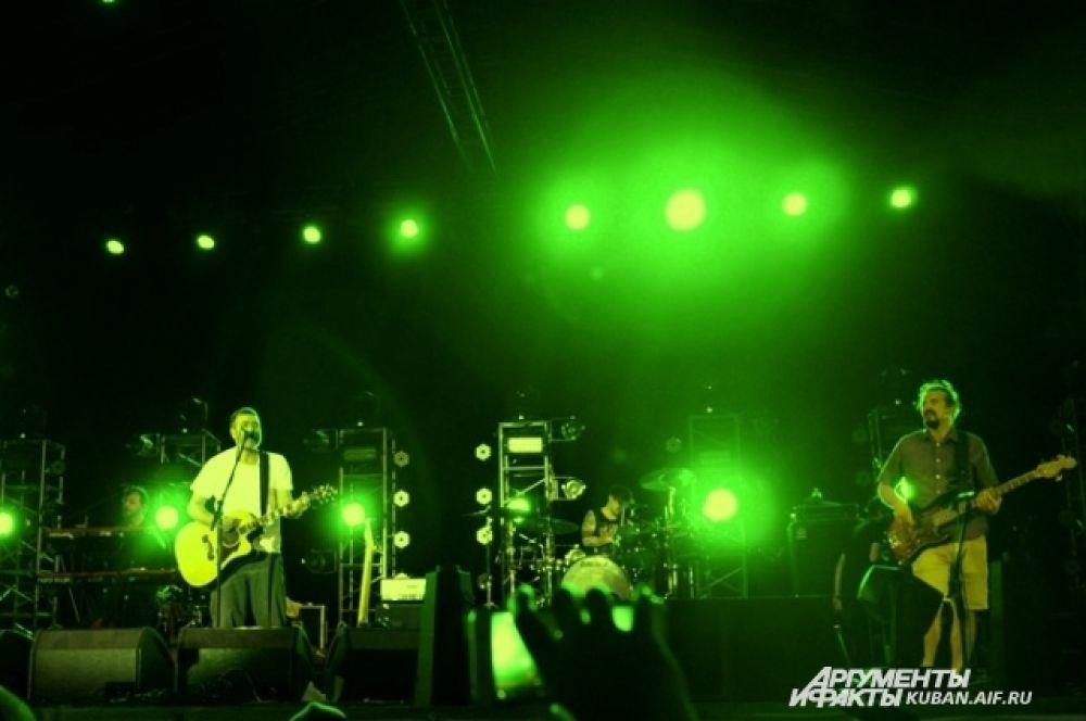 Выступление группы «Сплин».