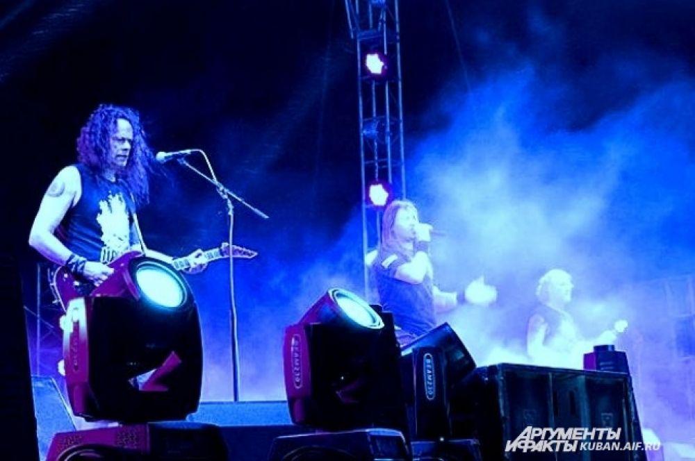 Выступление группы «Ария».
