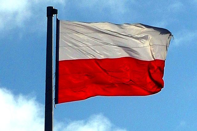 Троих германцев задержали зато, что они топтали польский флаг вВаршаве