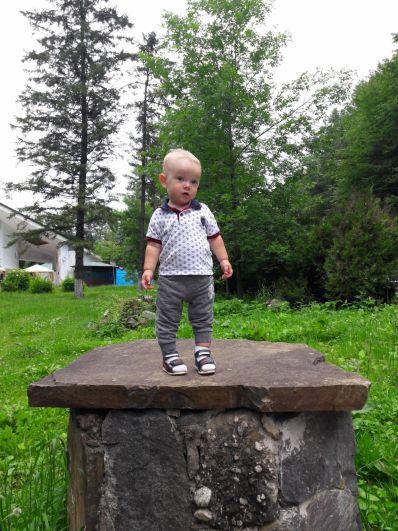 Участник №27. Томилец Захар, 1 год, г.Ставрополь