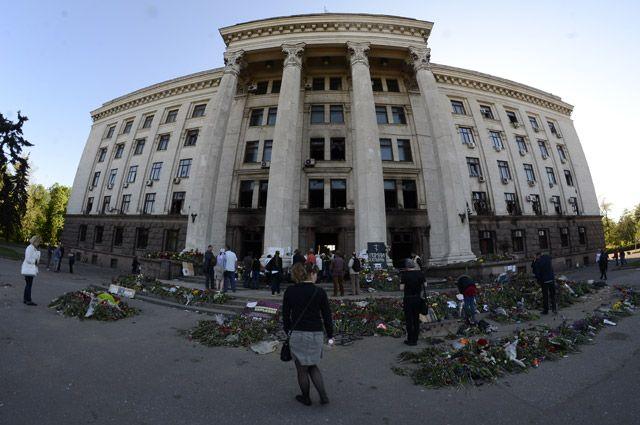 Дом профсоюзов в Одессе.
