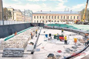 К Дню города на Хохловской площади откроется редкий двухуровневый раскопной парк.