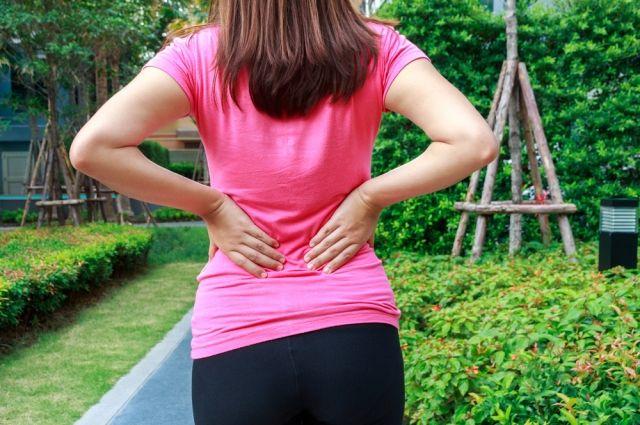 Часто у увлеченных огородников страдает спина