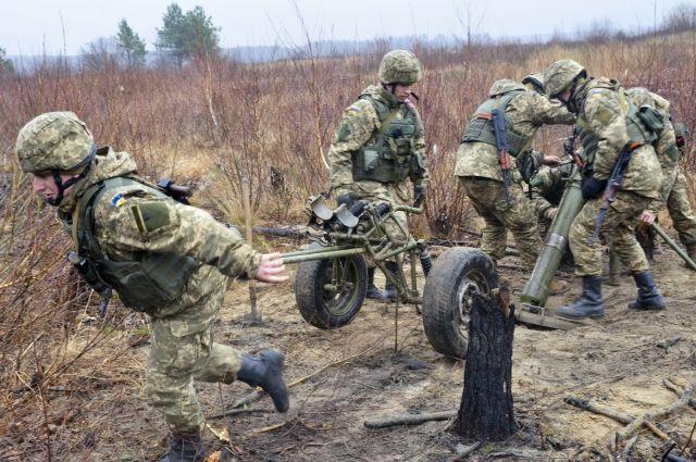 При взрыве вДонбассе погибли двое украинских военных, пятеро ранены