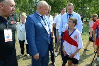 С детьми в лагере работают лучшие тренеры области.
