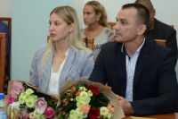 Торжественный приём прошёл в здании областного правительства.