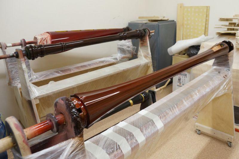 Инструменты могут быть разного цвета. Тренд этого года – «спелая  вишня».
