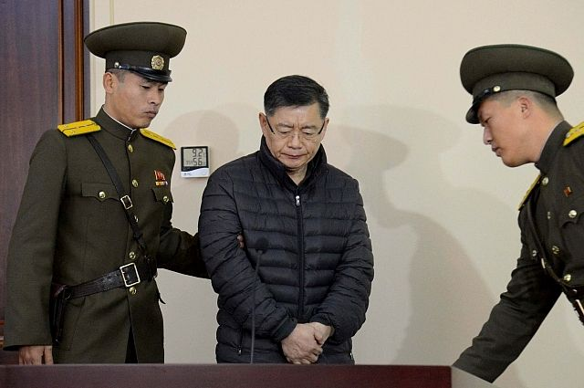 Власти КНДР освободили отбывавшего пожизненное заключение канадского пастора