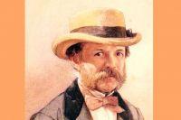 И.А. Гончаров. Портрет работы И. Раупова. 1868 г.