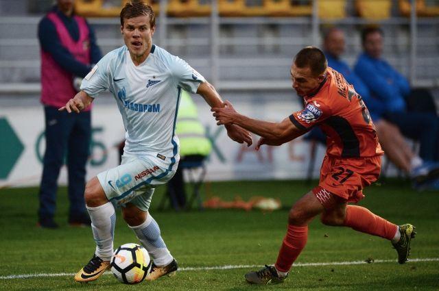 «Урал» и«Зенит» поделили очки впремьер-лиге