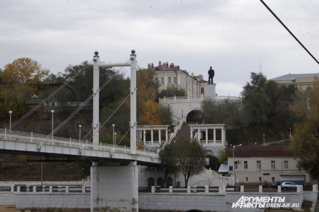 ВОренбурге ремонт спуска креке Урал начнется доконца августа