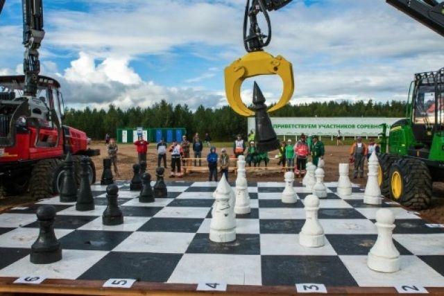 Машинисты играют в шахматы