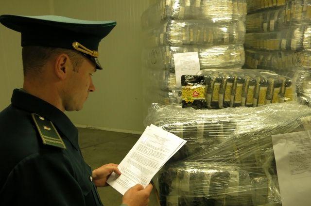 Перевозчик не смог предоставить нужные документы на товар.