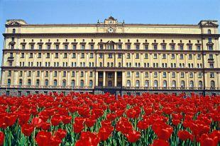 Здание ФСБ (бывшее НКВД) во Москве.