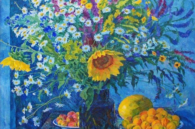 До 13 августа в Музее изобразительных искусств на Пушкинской можно посмотреть выставку живописных работ «Лето, ах лето...».
