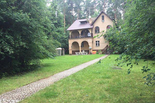 Загородный дом Тамиллы Сличенко.