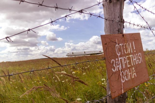 Уаэропорта Казани обнесли колючей проволокой кладбище самолетов