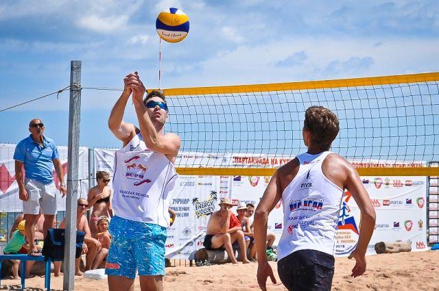 ВКазани пройдет европейское первенство попляжному волейболу среди юношей
