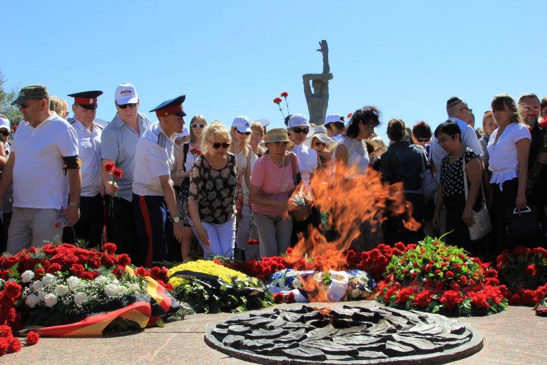 Траурная церемония 11 августа 2017 года.