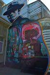 Стену оформил Никита Ходак из творческой группы ZukClub.