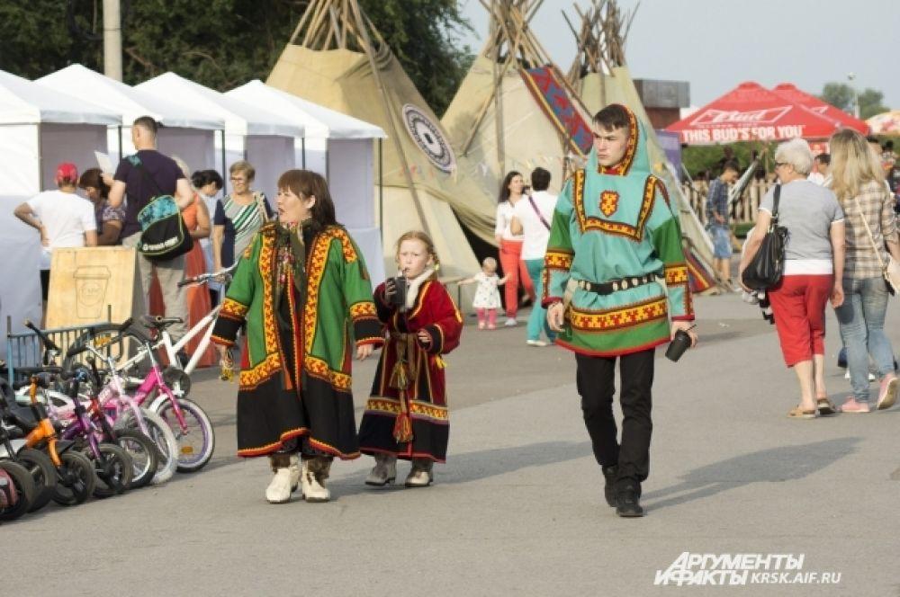 Представительная делегация шорцев, ненцев, эвенков и нганасанов приехала в столицу края.
