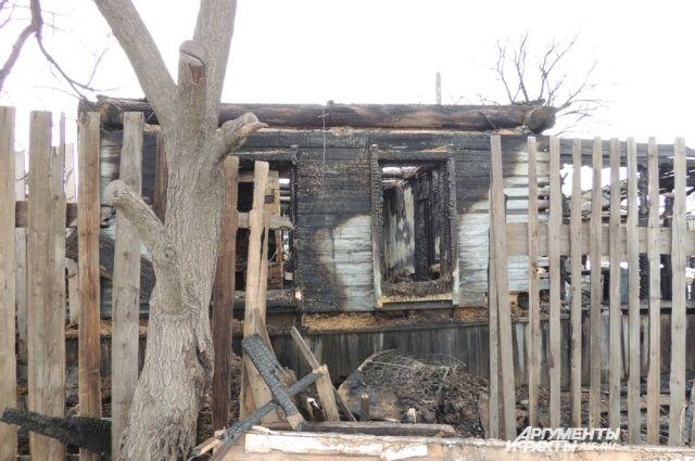 Люди остались без жилья и имущества