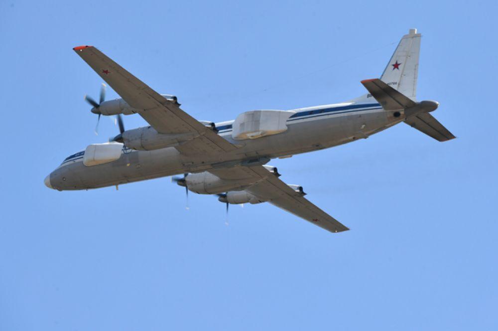 Самолет-постановщик помех Ил-22ПП