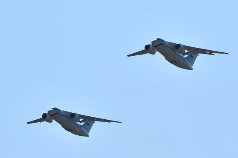 Военно-транспортные самолёты Ан-148.