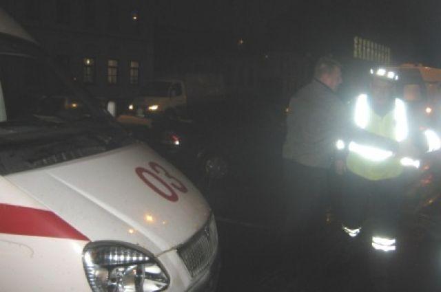 В аварии пострадали пассажиры иномарки