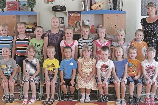 На занятиях с воспитателем дети из группы № 9 «Незабудка» не только учат буквы и цифры, но и изучают животный мир.