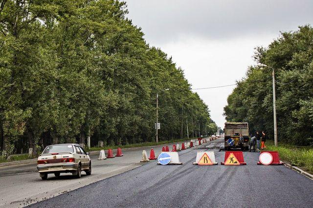 ВЧелябинске ограничили движение поодной изсамых длинных улиц