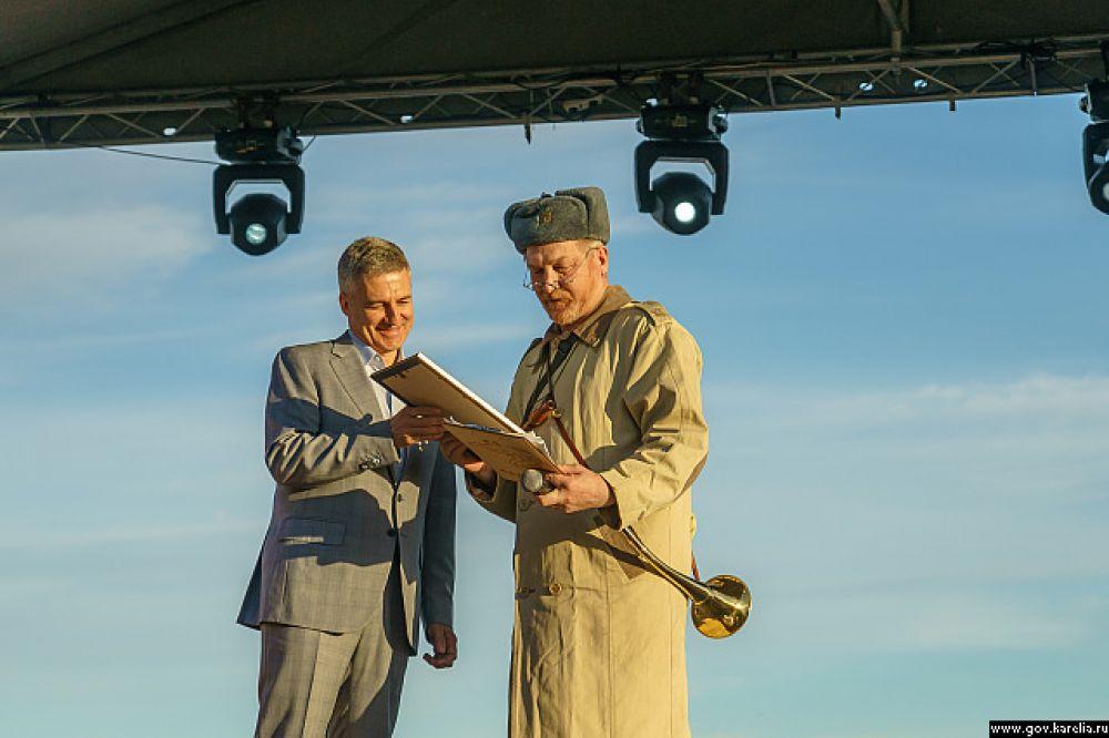 В открытии фестиваля поучаствовал и Артур Парфенчиков