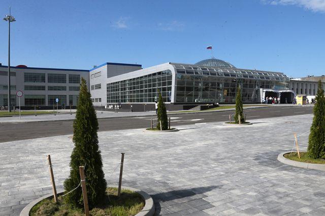 ВКалининграде эвакуировано строение аэропорта «Храброво»