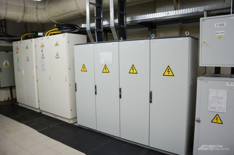 Генераторная.  Для поддержания производительности нужно электричество.