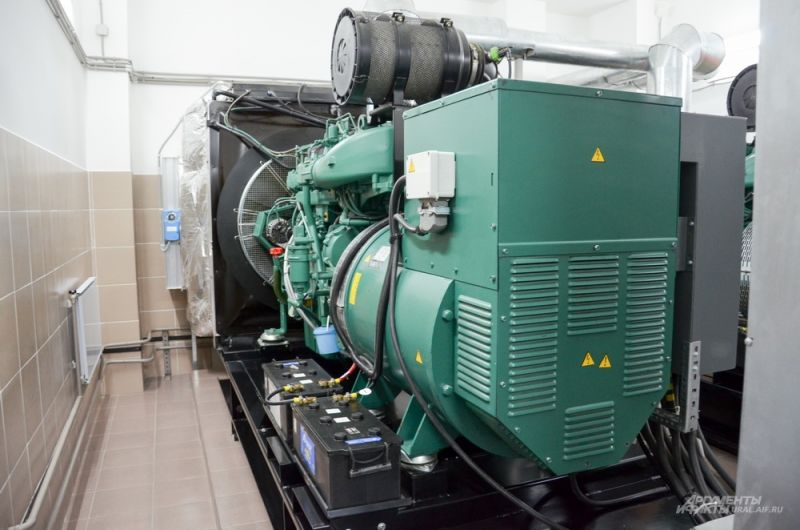 Автоматический дизельный генератор.