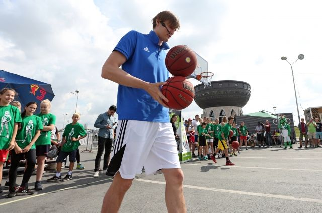 Андрей Кириленко на мастер-классе в Казани.