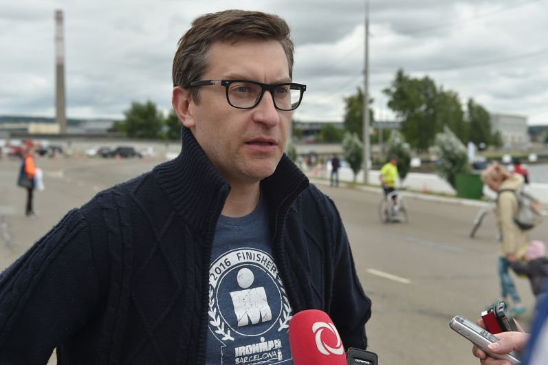 И.о. зампредседателя Правительства УР Ярослав Семёнов.