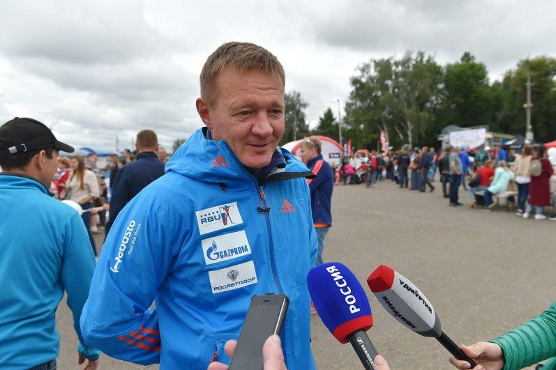 Руководитель Росавтодора, вице-президент федерации биатлона Санкт-Петербурга Роман Старовойт.