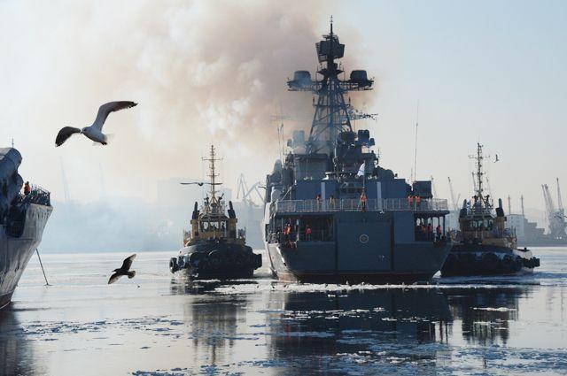 День ВМФ вформате 360 градусов появился насайте Минобороны